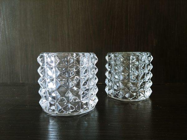 C196 Crystal votive 7cm