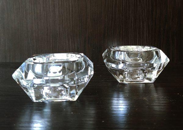 C197 Crystal votive crete 6.8×6.5cm
