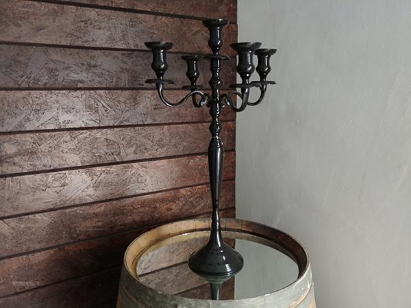 Candle Holder – Large Black