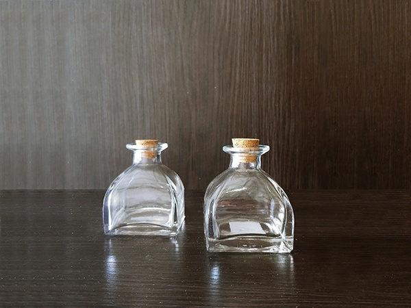Glass – Bottle Cork Clear XSmall Thin