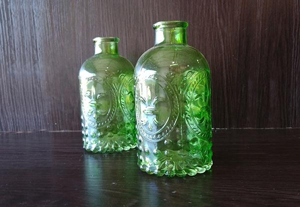 Glass – Bottle Small Deep Green
