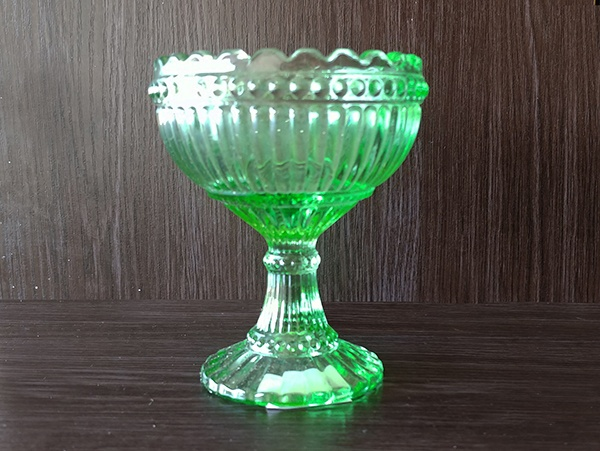 Glass – Goblet Green