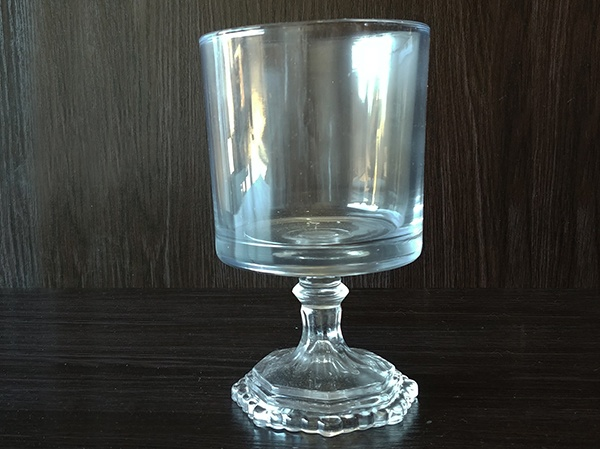 Glass – Goblet Large Cylindar Clear