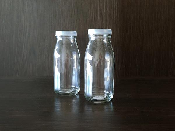Glass – Milk Jar Small Plastic Caps