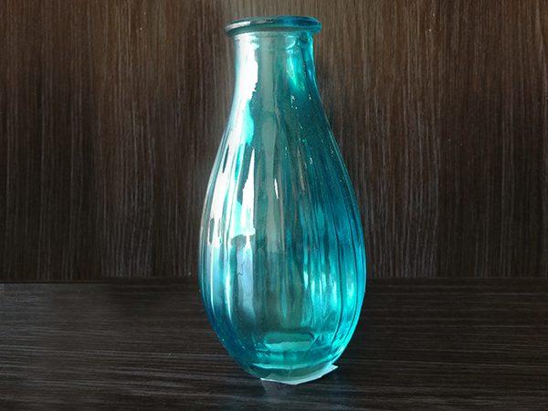 Glass – Vase Blue