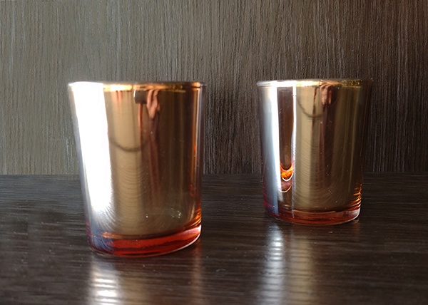 Glass – Votive Orange