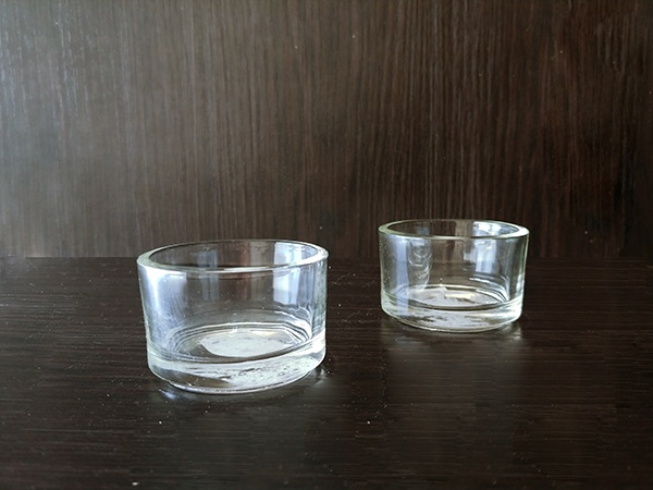 Glass – Votive Small Basic Round Clear XShort