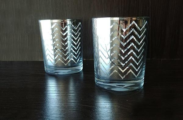 Glass – Votive Zigzag