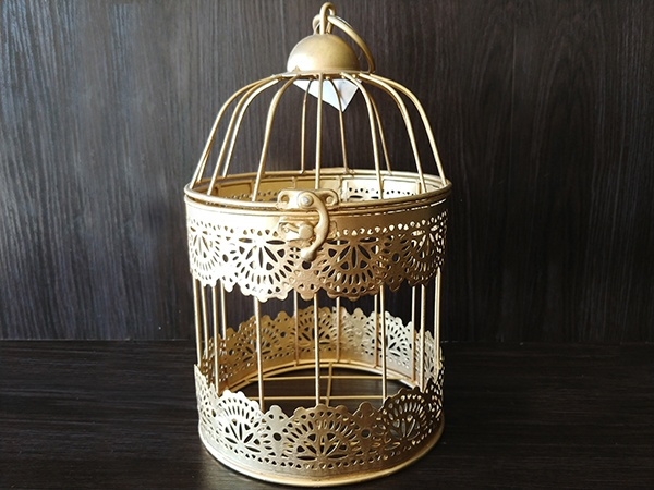 Gold – Birdcage Small