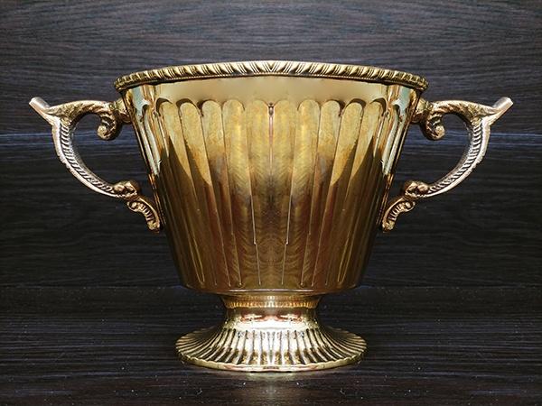 Gold – Vase Long Wide