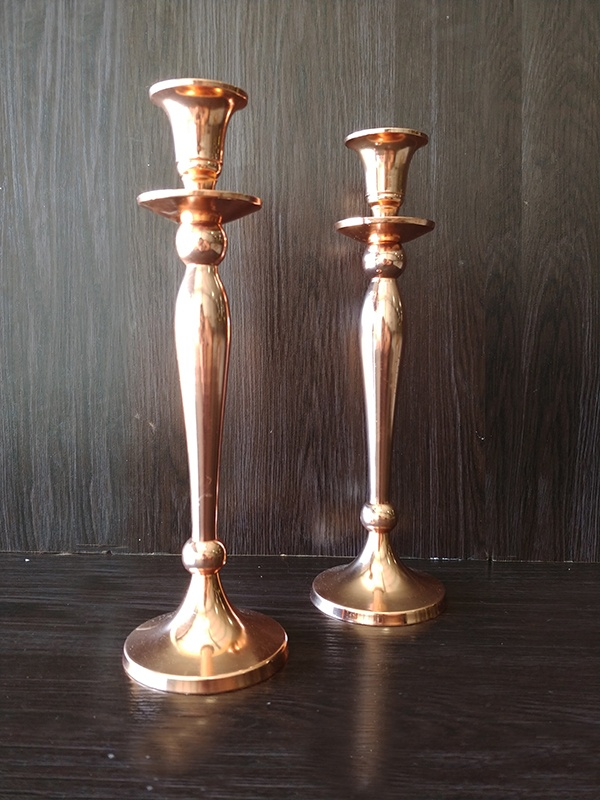 Rose Gold – Candle Sticks Medium