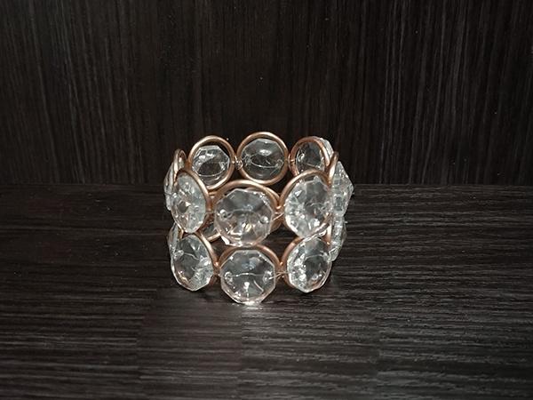 Rose Gold – Napkin Holder Crystal