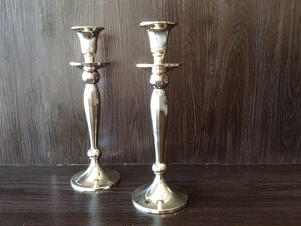 Silver – Candle Stick Large