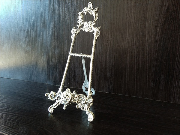 Silver – Table Card Name Holder