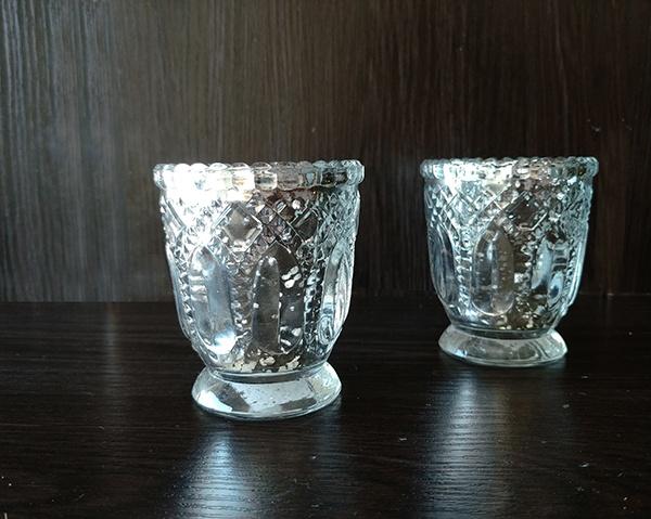 Silver – Votive Small Decorative
