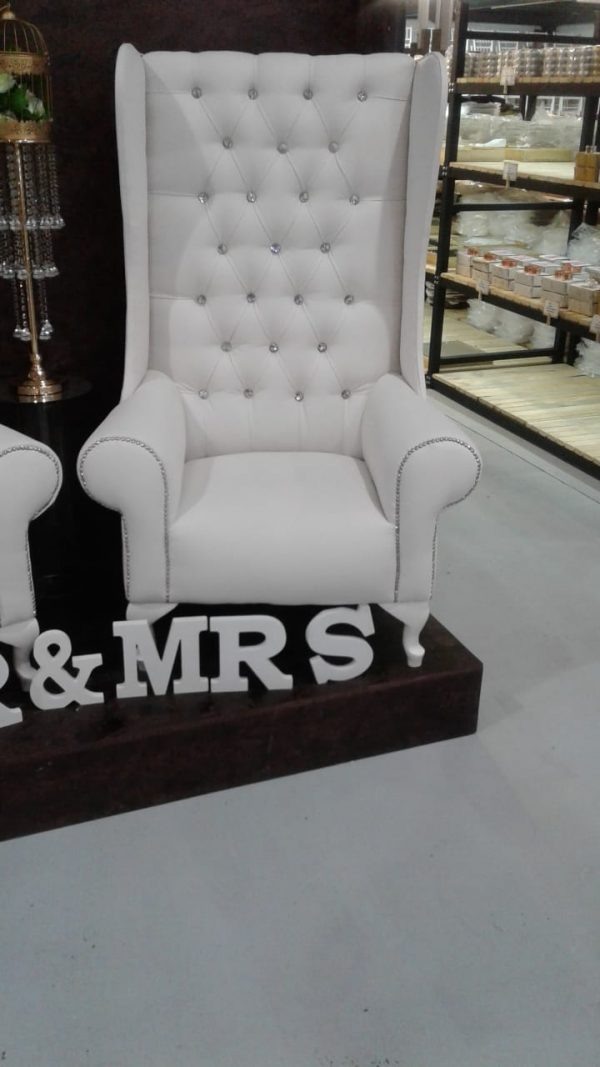 King and Queen chair